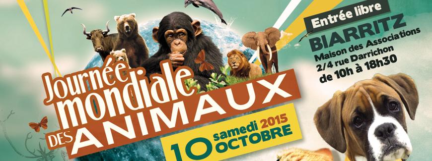 JOURNEE MONDIALE des ANIMAUX
